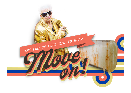 The end of fuel oil is near, move on!